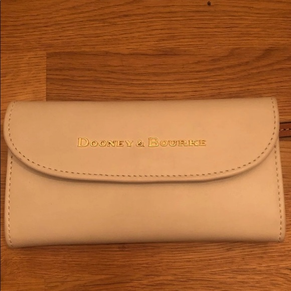 Dooney & Bourke wallet in a stone color